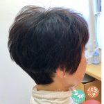 立体カットとヘナでくせ毛がこんなに楽になりました(^_^)